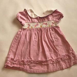 Toffee Apple size 18 month smocked dress